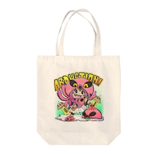 ABUDUCTIONちゃん Tote bags