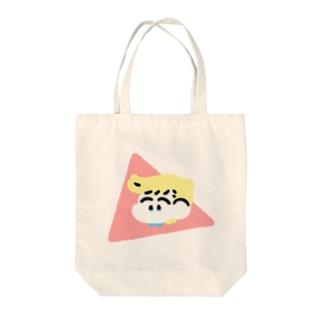 なかよしトートバッグ(ぴんく) Tote bags