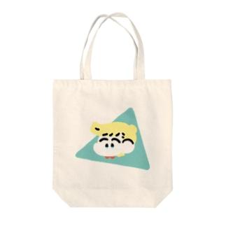 なかよしトートバッグ(ぶるー) Tote bags