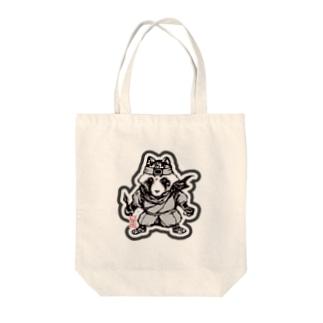 八雲斎条(黒) Tote bags