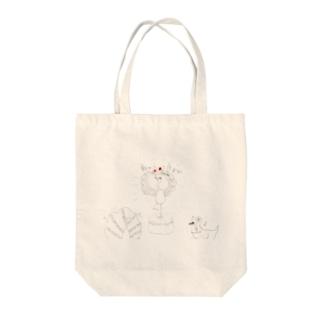 ツルとわっしょい Tote Bag