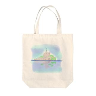 もんさん Tote bags