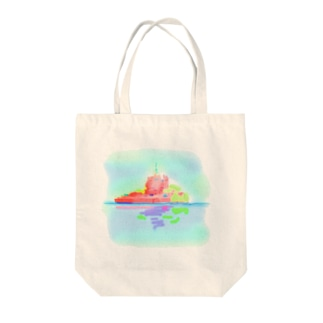 もんさん2 Tote bags