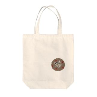 カジュアル猫さんシリーズ Tote bags