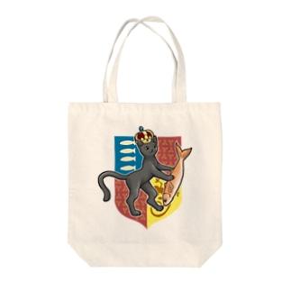 猫の王国の紋章 Tote bags