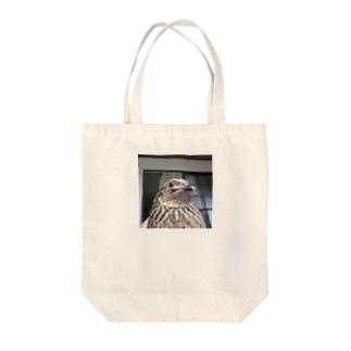 ウズラのゆず子さんグッズ Tote bags