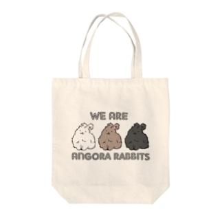 アンゴラ Tote bags