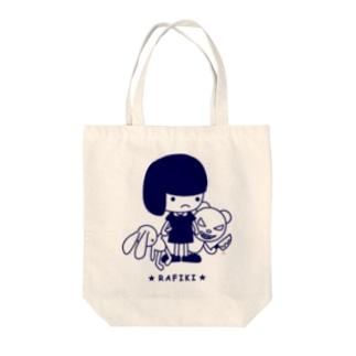 RAFIKI Tote bags