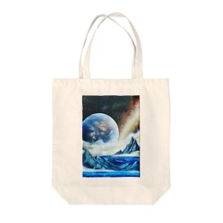 スプレーアート地球🌏オシムラ作品 Tote bags