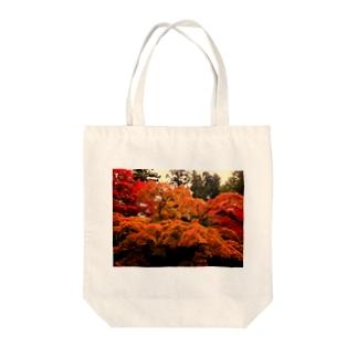 nanohanahoの紅葉 Tote bags