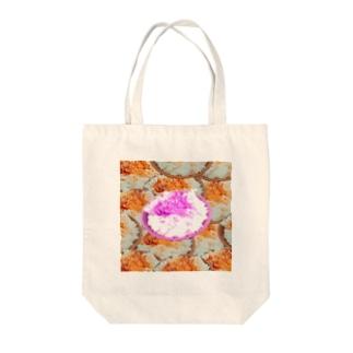 卵かけご飯(アートなおかか) Tote bags