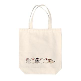 ねぶん(いろいろいっぱい) Tote bags