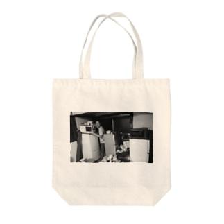冷蔵庫廃品回収記念品 Tote bags