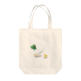 T-Rex Chicken & Chick Tote bags