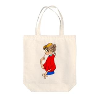 今時レトロ Tote bags