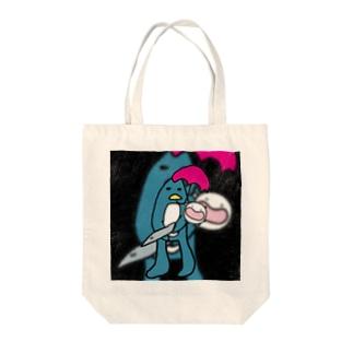 ソルジャーぺんぎんの子守唄(ララバイ) Tote bags