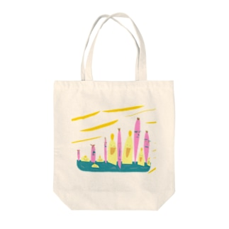 Seventh ニーハオ Tote bags