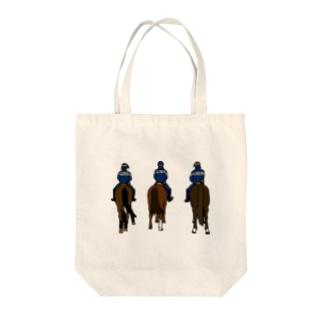 フランス・パリの騎馬隊 Tote bags