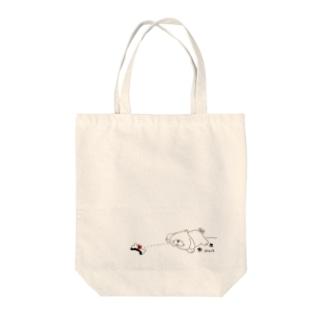 がんばれペキオくん ペキニーズ 犬 Tote bags