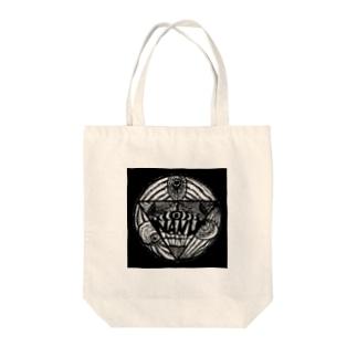 NANU eye Tote bags