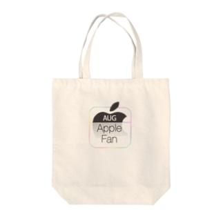 Apple Fan Tote bags