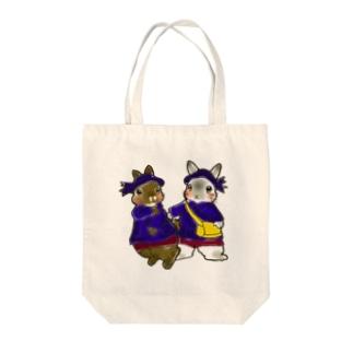 園児うさちゃんず。 Tote bags