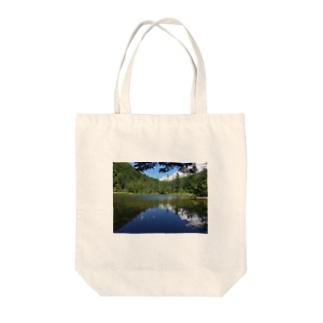上高地 Tote bags