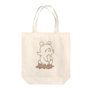 かぶ Tote bags