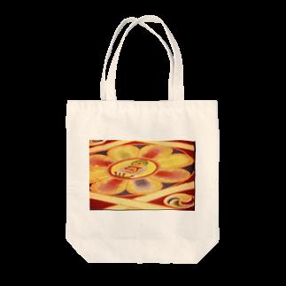 moonIbizaのチベットのサンド曼陀羅 Tote bags