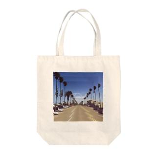 トロピカル Tote bags