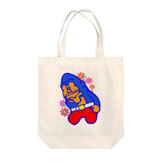 長谷ゴリ夫 Tote bags