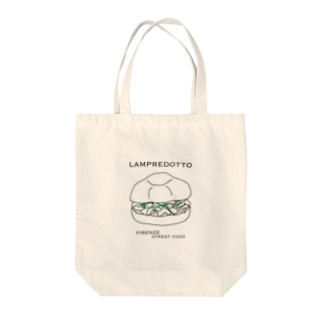 ランプレドットイラスト Tote bags