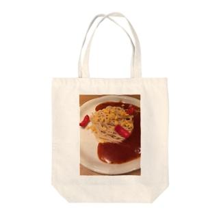 スパゲティ Tote bags