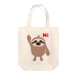 ナマケモノンエコバック Tote bags