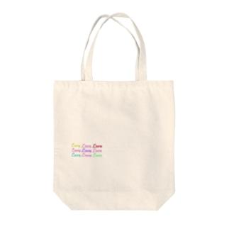 まゆ@月のLoveグッズ Tote bags