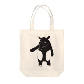 マレーバクのDin Tote bags