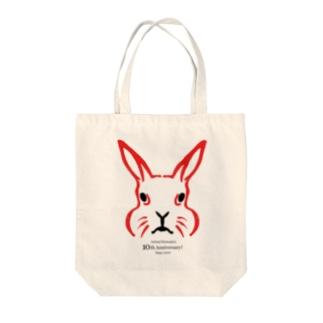動物隈取 10周年記念グッズ Tote bags