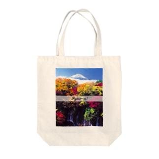 Fujisa〜n! AKI  Tote bags