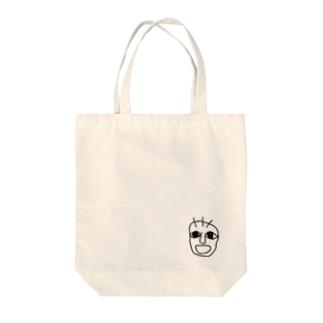 べびーふぇいす Tote bags