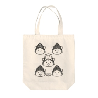 仏にゃんs Tote bags