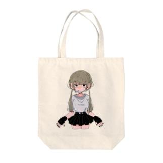 ヤニカス少女 Tote bags