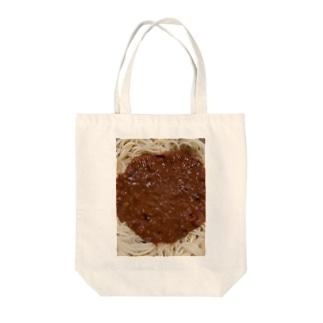 ミートスパゲティ Tote bags