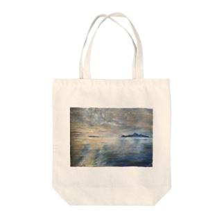 箕沖から仙酔島-200928 Tote bags