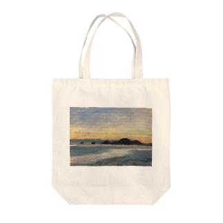 箕沖から仙酔島'-200928 Tote bags