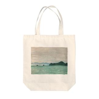 箕沖から仙酔島''-200928 Tote bags