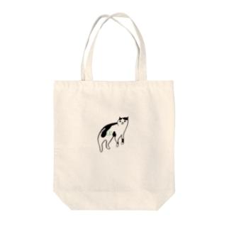 ヅラCAT Tote bags