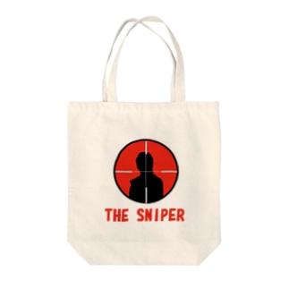 スナイパー2号 Tote bags