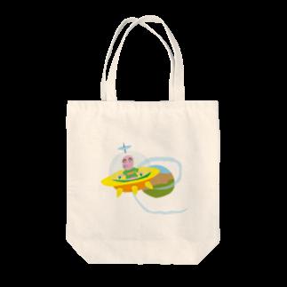 proxyのハロー宇宙人 Tote bags