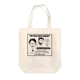 架空企業シリーズ『THE NICE GUYS AGENCY』 Tote bags