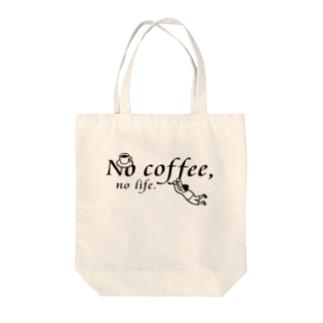 No coffee,no life.TO1 Tote bags